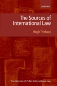 Ebook in inglese Sources of International Law Thirlway, Hugh