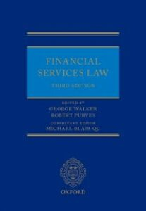 Ebook in inglese Financial Services Law Purves, Robert , Walker, George