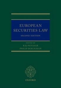 Foto Cover di European Securities Law, Ebook inglese di  edito da OUP Oxford