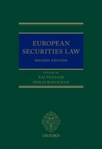 Ebook in inglese European Securities Law -, -