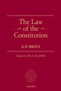 Ebook in inglese Law of the Constitution Dicey, A.V.