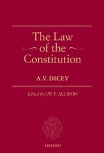 Foto Cover di Law of the Constitution, Ebook inglese di A.V. Dicey, edito da OUP Oxford