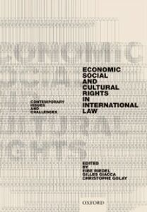 Foto Cover di Economic, Social, and Cultural Rights in International Law: Contemporary Issues and Challenges, Ebook inglese di  edito da OUP Oxford