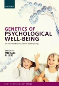 Foto Cover di Genetics of Psychological Well-Being: The role of heritability and genetics in positive psychology, Ebook inglese di  edito da OUP Oxford