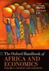 Oxford Handbook of Africa and Economics: Volume 1: Context and Concepts