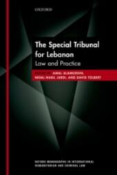 Special Tribunal for Lebanon: Law and Practice