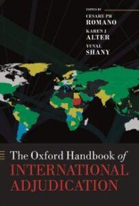 Ebook in inglese Oxford Handbook of International Adjudication -, -