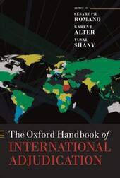 Oxford Handbook of International Adjudication