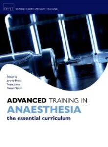 Ebook in inglese Advanced Training in Anaesthesia -, -