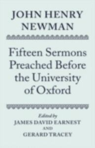 Ebook in inglese John Henry Newman: Fifteen Sermons Preached Before the University of Oxford -, -