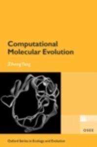 Ebook in inglese Computational Molecular Evolution Yang, Ziheng