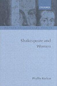 Ebook in inglese Shakespeare and Women PHYLLIS, RACKIN