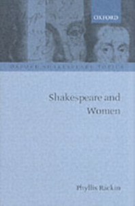 Ebook in inglese Shakespeare and Women PHYLLIS, RACKIN