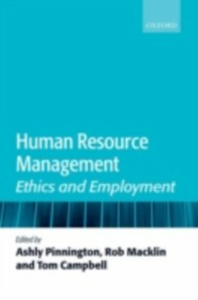 Ebook in inglese Human Resource Management: Ethics and Employment -, -