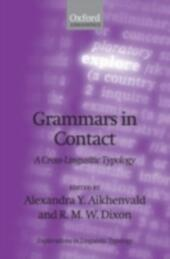 Grammars in Contact: A Cross-Linguistic Typology