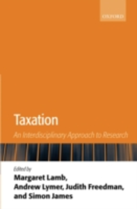 Ebook in inglese Taxation: An Interdisciplinary Approach to Research -, -