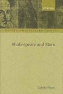 Ebook in inglese Shakespeare and Marx GABRIEL, EGAN