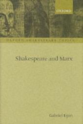 Shakespeare and Marx