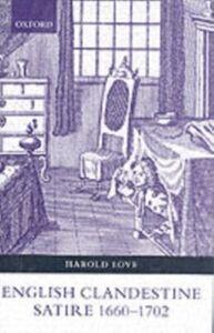 Ebook in inglese English Clandestine Satire, 1660-1702 Love, Harold