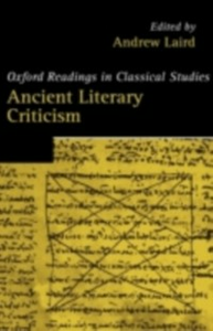 Ebook in inglese Ancient Literary Criticism -, -