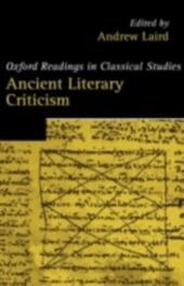 Ancient Literary Criticism