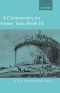 Foto Cover di Commentary on Horace: Odes Book III, Ebook inglese di R. G. M. Nisbet,Niall Rudd, edito da OUP Oxford