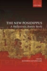 Ebook in inglese New Posidippus: A Hellenistic Poetry Book -, -