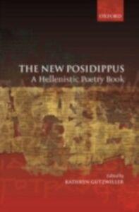 Foto Cover di New Posidippus: A Hellenistic Poetry Book, Ebook inglese di  edito da OUP Oxford