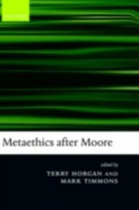 Foto Cover di Metaethics after Moore, Ebook inglese di  edito da Clarendon Press