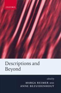 Foto Cover di Descriptions and Beyond, Ebook inglese di REIMER MARGA, edito da Oxford University Press
