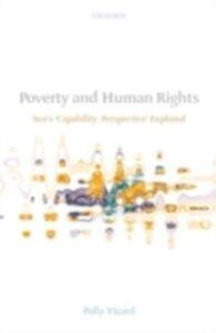 Foto Cover di Poverty and Human Rights: Sen's 'Capability Perspective' Explored, Ebook inglese di Polly Vizard, edito da OUP Oxford