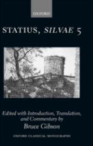 Foto Cover di Statius Silvae 5, Ebook inglese di  edito da OUP Oxford