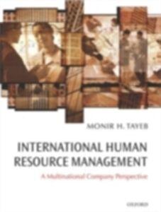 Ebook in inglese International Human Resource Management Tayeb, Monir