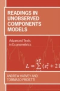 Ebook in inglese Readings in Unobserved Components Models ANDREW, HARVEY