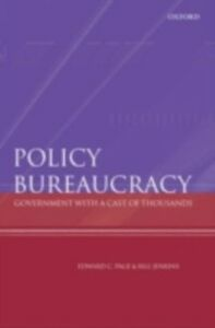 Foto Cover di Policy Bureaucracy: Government with a Cast of Thousands, Ebook inglese di Bill Jenkins,Edward C Page, edito da OUP Oxford