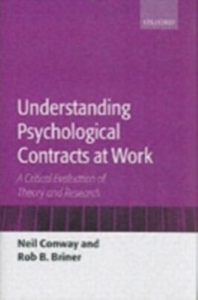 Ebook in inglese Understanding Psychological Contracts at Work: A Critical Evaluation of Theory and Research Briner, Rob B. , Conway, Neil
