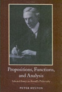 Ebook in inglese Propositions, Functions, and Analysis: Selected Essays on Russell's Philosophy Hylton, Peter