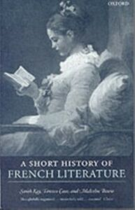 Ebook in inglese Short History of French Literature Bowie, Malcolm , Cave, Terence , Kay, Sarah