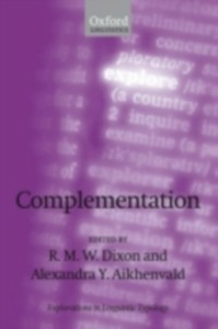 Ebook in inglese Complementation: A Cross-Linguistic Typology -, -