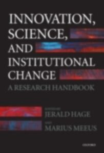 Ebook in inglese Innovation, Science, and Institutional Change: A Research Handbook -, -