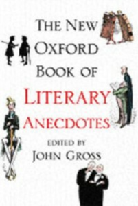 Ebook in inglese New Oxford Book of Literary Anecdotes -, -