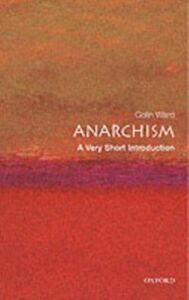 Ebook in inglese Anarchism: A Very Short Introduction Ward, Colin
