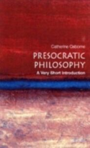 Ebook in inglese Presocratic Philosophy: A Very Short Introduction Osborne, Catherine