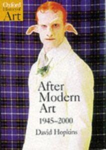 Ebook in inglese After Modern Art 1945-2000 Hopkins, David
