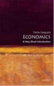 Ebook in inglese Economics: A Very Short Introduction Dasgupta, Partha