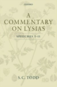Ebook in inglese Commentary on Lysias, Speeches 1-11 Todd, S. C.