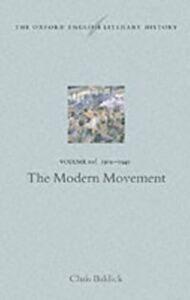 Ebook in inglese Oxford English Literary History Baldick, Professor Chris