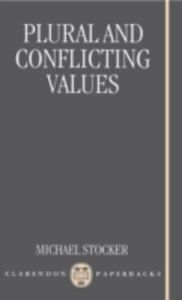 Ebook in inglese Plural and Conflicting Values Stocker, Michael