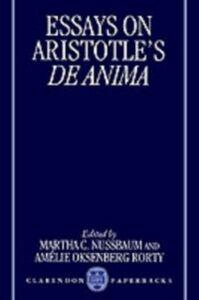 Foto Cover di Essays on Aristotle's De Anima, Ebook inglese di  edito da Clarendon Press
