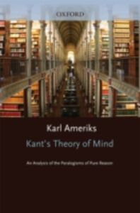 Ebook in inglese Kant's Theory of Mind